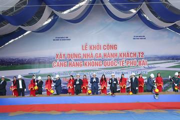 ACV khởi công nhà ga T2 sân bay Phú Bài, vốn đầu tư 2.250 tỷ đồng