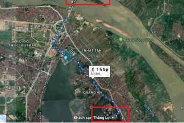 Hà Nội xây cầu vượt nút giao An Dương - đường Thanh Niên giai đoạn 2
