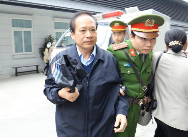Bị cáo Trương Minh Tuấn.
