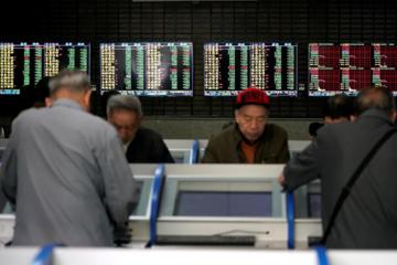 Chứng khoán Trung Quốc tăng 1%