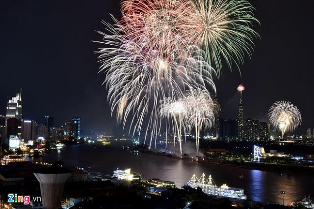 TP HCM phong tỏa, hạn chế nhiều tuyến đường để bắn pháo hoa đón năm mới 2020