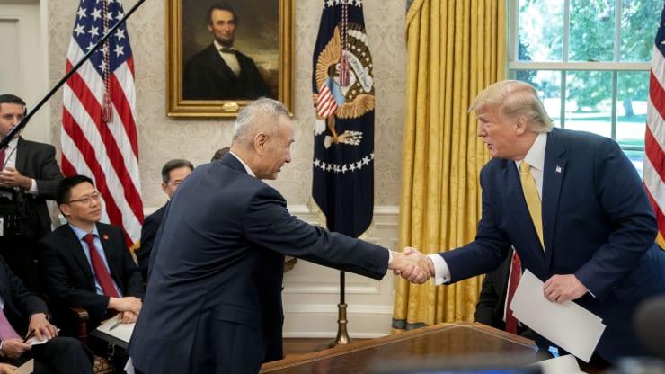 Trump: Sẽ ký thỏa thuận giai đoạn 1 với Trung Quốc vào ngày 15/1