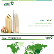 VCBS: Báo cáo triển vọng 2020