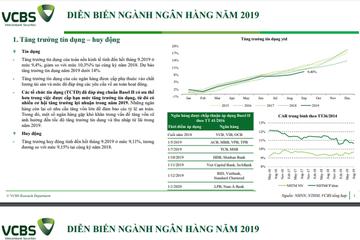 VCBS: Báo cáo ngành ngân hàng 2020