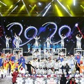 <p> Người dân đón năm mới tại một sự kiện ở khu công nghiệp Shougang, một trong những địa điểm tổ chức Thế vận hội 2020 ở Bắc Kinh, Trung Quốc. Ảnh: <em>Reuters</em>.</p>