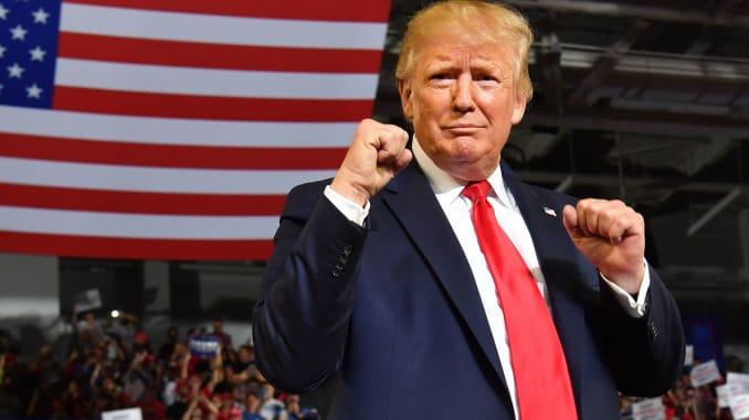 Tổng thống Trump gây quỹ hơn 102 triệu USD cho chiến dịch tái tranh cử
