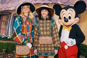 Gucci hợp tác với Disney ra mắt bộ sưu tập Mickey chào năm Canh Tý