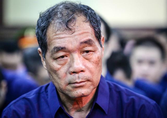 Ông Trầm Bê ra tòa hồi năm ngoái trong đại án Phạm Công Danh. Ảnh: Thành Nguyễn.