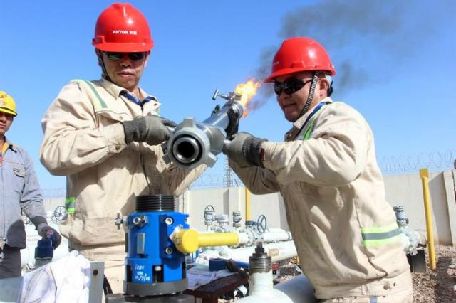 Giá dầu có thể lên tới 80 USD/thùng trong năm 2020 nếu căng thẳng Mỹ - Iran tiếp tục leo thang. Ảnh: Investing.