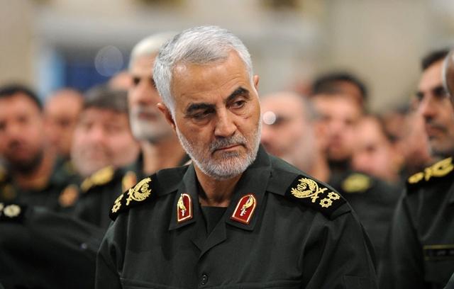 Thiếu tướng Vệ binh Cách mạng Hồi giáo Iran Qassem Soleimani. Ảnh: Bloomberg.