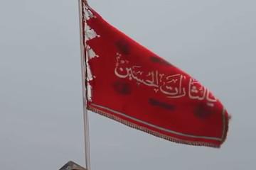 Thánh đường Iran treo 'cờ máu'