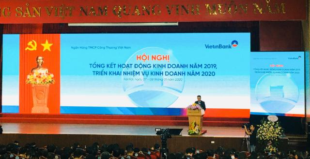 Hội nghị tổng kết hoạt động kinh doanh năm 2019. Ảnh: Lê Hải