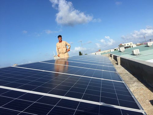 Đề xuất giá mua điện mặt trời theo một vùng