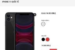 Gần Tết, iPhone 11 liên tục giảm giá