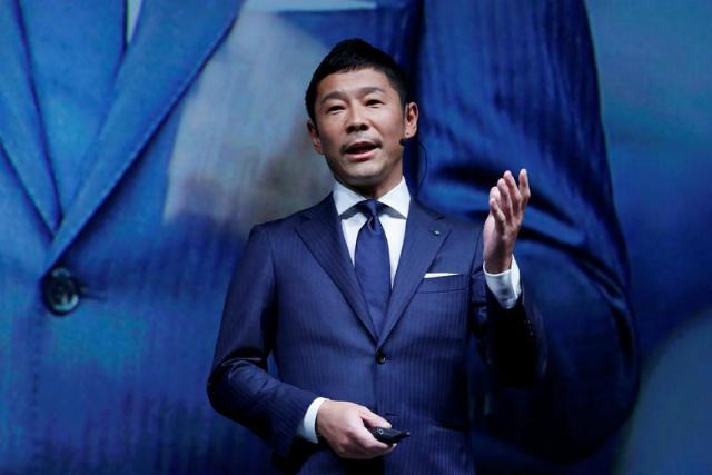 Ông trùm thời trang Nhật Bản Yusaku Maezawa. Ảnh: Reuters.