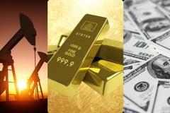 Giá vàng, dầu tăng vọt, chứng khoán Mỹ nguy cơ mất hơn 1%