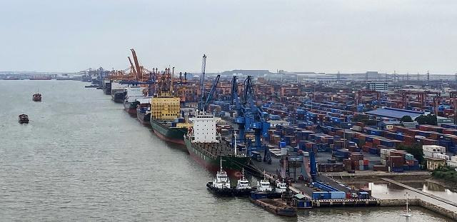 Quan sát hoạt động các hệ thống cảng biển tại Hải Phòng
