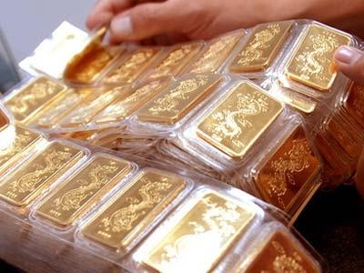 Vàng miếng giảm về ngưỡng 42,9 triệu đồng/lượng