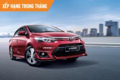 Top xe bán chạy tháng cuối năm 2019: Toyota Vios trở lại vị trí dẫn đầu