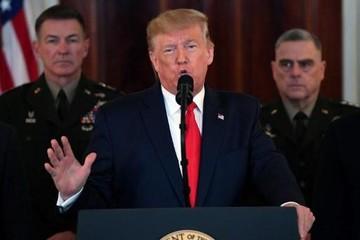 Trump áp thêm lệnh trừng phạt với Iran