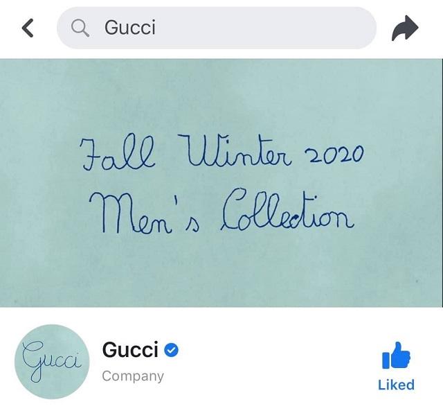 Gucci gây 'sốt' với những dòng chữ nguệch ngoạc