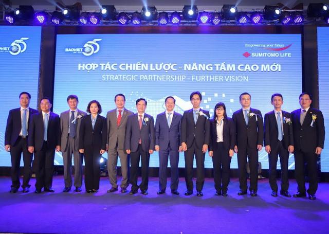 Tập đoàn Bảo Việt và Sumitomo Life ký kết hợp tác chiến lược