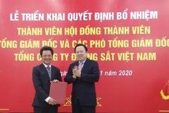 Tổng Công ty Đường sắt Việt Nam có tổng giám đốc mới
