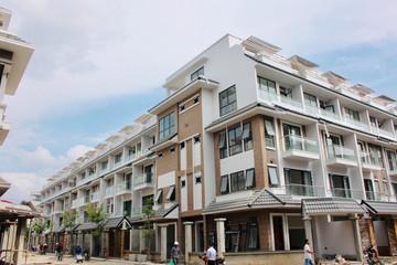 Biệt thự, nhà liền kề phát triển mạnh ở các huyện sắp lên quận ở Hà Nội