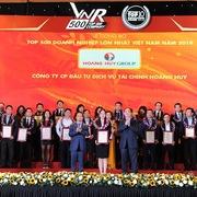 Tài chính Hoàng Huy năm thứ 4 trong top 500 doanh nghiệp lớn nhất Việt Nam
