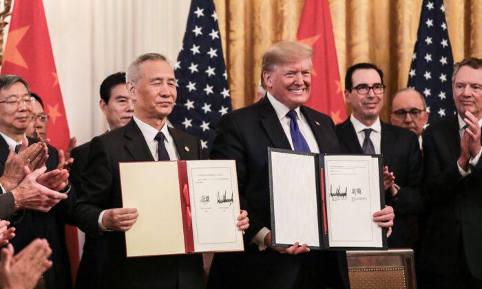 Trung Quốc cam kết gì với Mỹ trong thỏa thuận thương mại giai đoạn 1?