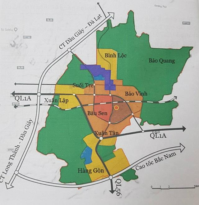 Đồng Nai nghiên cứu điều chỉnh tổng thể quy hoạch chung TP Long Khánh