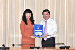 Bà Phạm Thị Hồng Hà làm giám đốc Sở Tài chính TP HCM