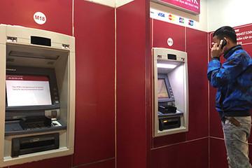 Nhiều ATM không rút được tiền