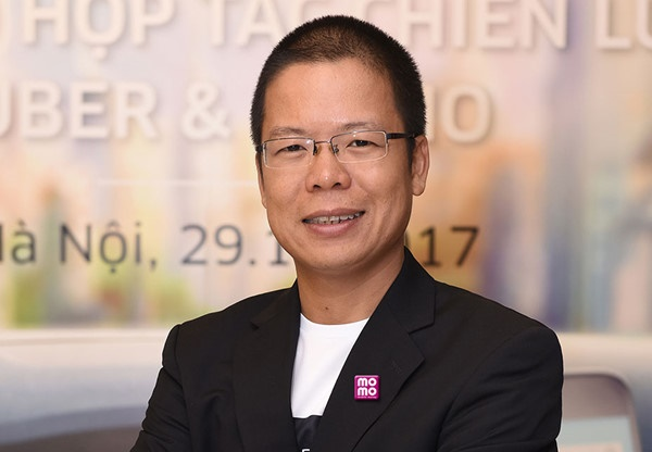 Ông Phạm Thành Đức, Tổng giám đốc Ví điện tử MoMo Ảnh: NVCC