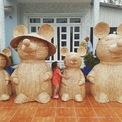 """<p> Gia đình nhà Chuột """"khổng lồ"""" không chỉ tạo hình linh vật của Tết Canh Tý 2020 mà còn thu hút sự quan tâm của mọi người bởi sự đáng yêu và độc đáo.</p>"""