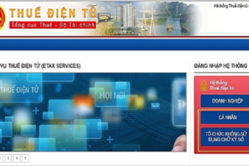 Cục Thuế TP HCM áp dụng thu thuế điện tử từ ngày 10/2