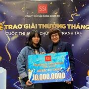 SSI trao giải cuộc thi 'iWin - Chứng sĩ tranh tài' tháng 12