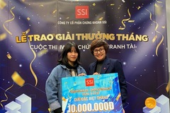 SSI trao giải cuộc thi 'iWin - Chứng sĩ tranh tài' tháng 12