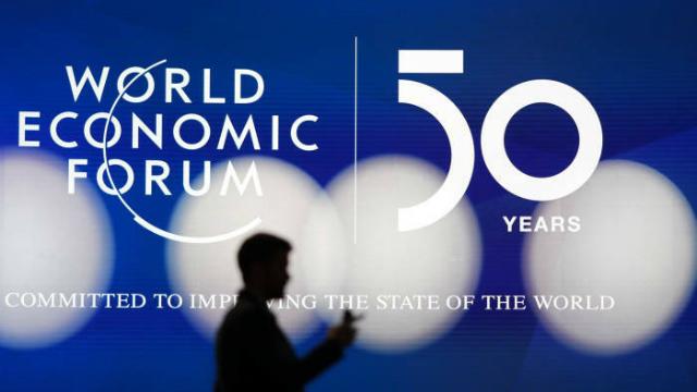 Đây là lần thứ 50Diễn đàn Kinh tế Thế giới (WEF) tại Davos được tổ chức. Ảnh: AP
