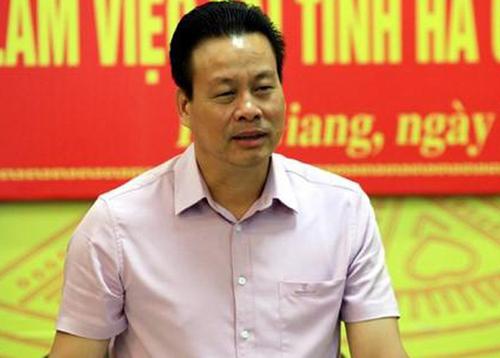 Chủ tịch UBND tỉnh Hà Giang Nguyễn Văn Sơn. Ảnh: Báo Hà Giang