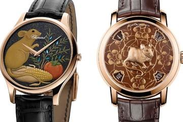Mẫu đồng hồ đặc biệt từ Vacheron Constantin và Chopard cho Tết Canh Tý 2020