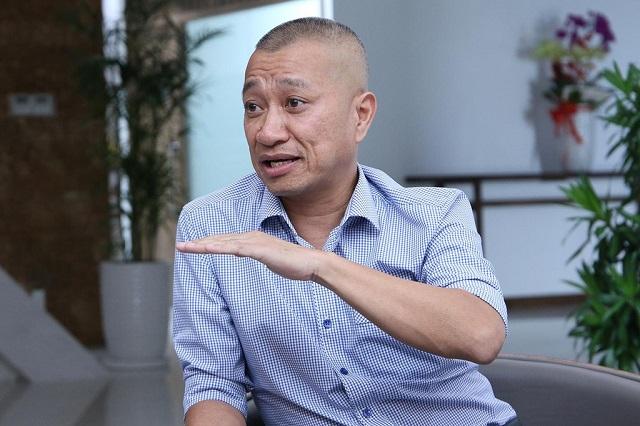 CEO Trần Kinh Doanh. Ảnh: Zing.