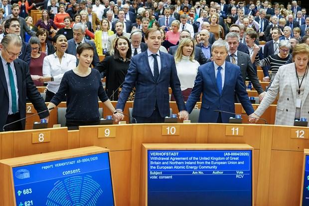 Nghị viện châu Âu bỏ phiếu thông qua thỏa thuận Brexit