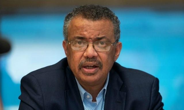 ổng giám đốc WHO Adhanom Ghebreyesus tại Geneva ngày 24/1. Ảnh: Reuters.