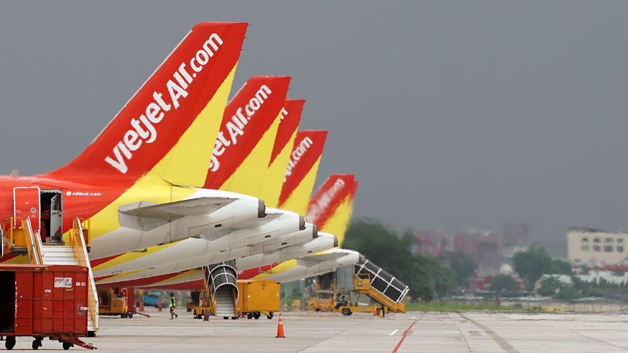 Vietjet vẫn khai thác đường bay đi và đến Hong Kong và Đài Loan