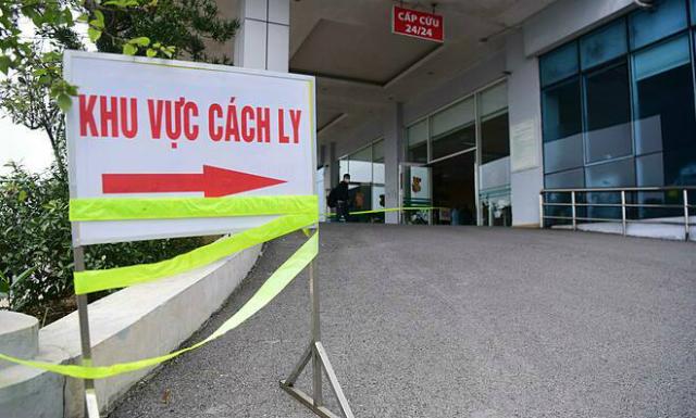 Khu vực cách ly bệnh nhân tại Bệnh viện Nhiệt đới Trung ương. Ảnh: Giang Huy.