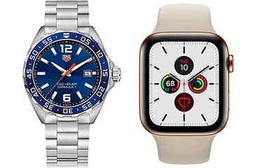 Apple Watch đánh bại đồng hồ Thụy Sĩ