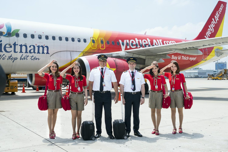 Vietjet mở thêm 3 đường bay thẳng từ Việt Nam đến Ấn Độ