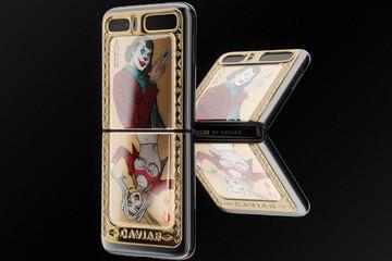 Samsung Galaxy Z Flip phiên bản Joker và Harley Quinn giá từ 120 triệu đồng