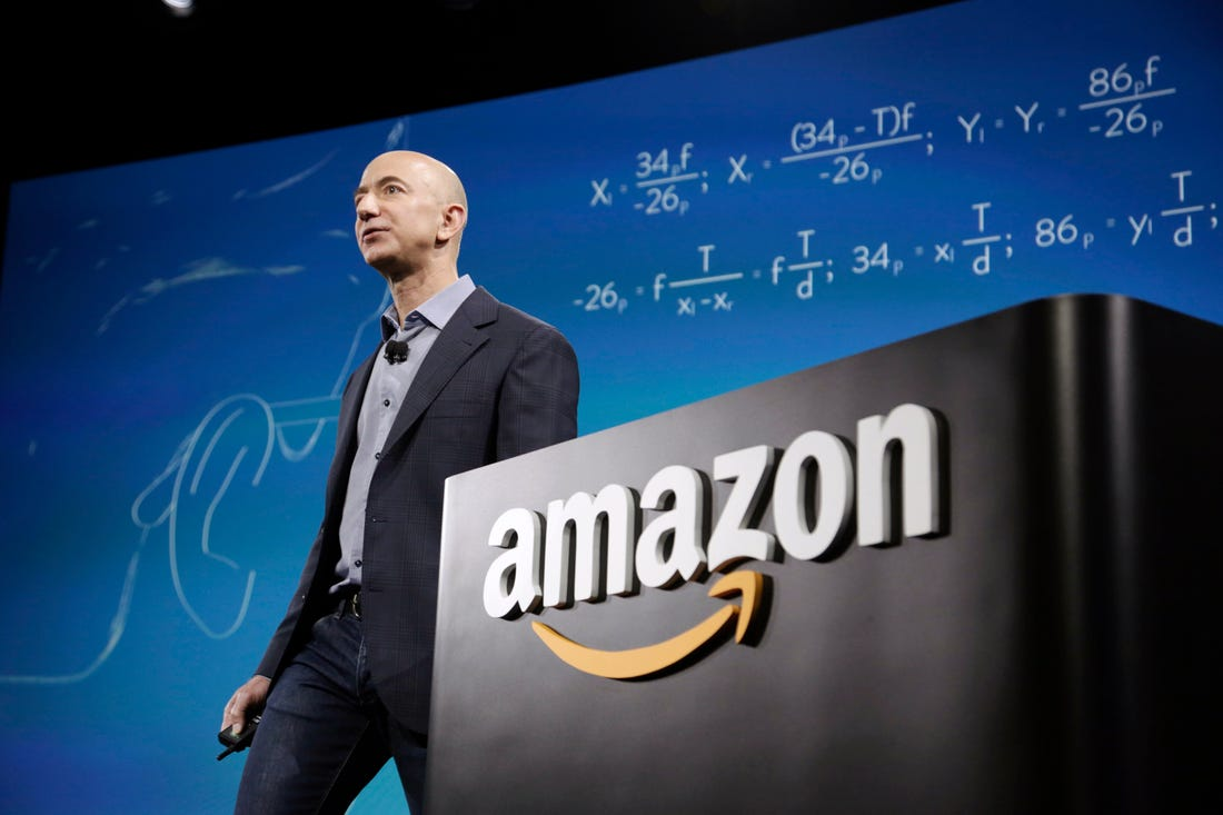 Jeff Bezos bán gần 2 triệu cổ phiếu Amazon trong một tuần